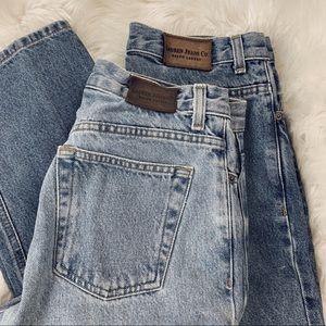 Vintage Ralph Lauren High Waisted Light Wash Jeans